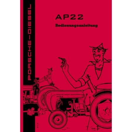 porsche traktor ap22 betriebsanleitung