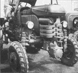 Porsche Traktor A 133 Vorderansicht