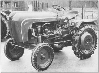 Porsche-Traktor AP 16 Neu