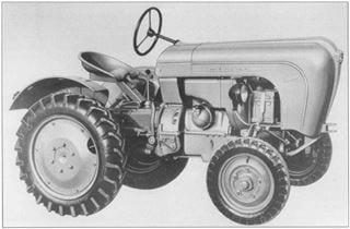 Porsche-Traktor AP 22 mit Verkleidung