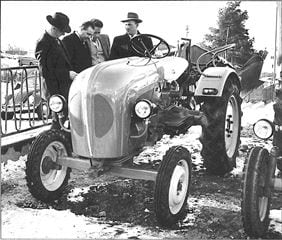 Porsche Traktor Junior 109 Vorstellung