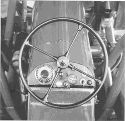 Porsche Traktor Master 419 Armaturenbrett