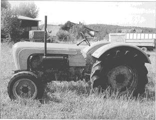 Porsche Traktor Master 419 Seitenansicht