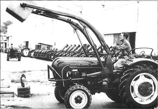 Porsche Traktor Standard 218 V Funktionsprüfung