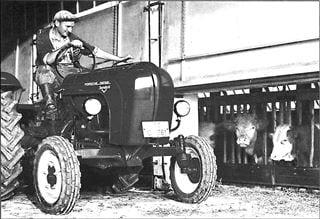Porsche Traktor Standard 218 V im Einsatz