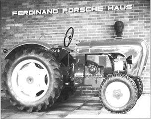 Porsche Traktor Standard 218 V Neu