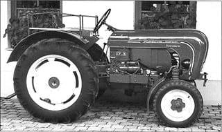 Porsche Traktor Standard N 208 Seitenansicht
