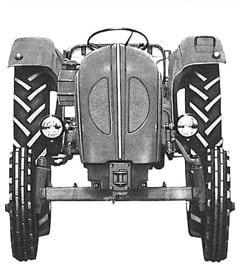 Porsche Traktor Standard Star 219 Frontansicht