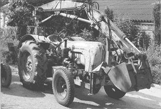 Porsche Traktor Super B 308