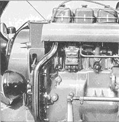 Porsche Traktor Super Export 329 Motor