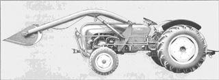 Porsche Traktor Super Export 329 Seitenansicht