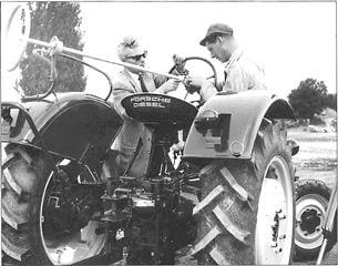 Porsche Traktor Super N 308