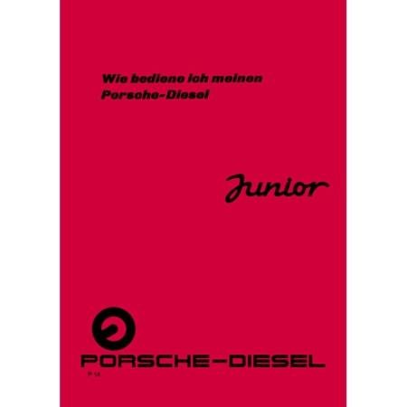 Porsche Diesel Schlepper Junior Betriebsanleitung 109