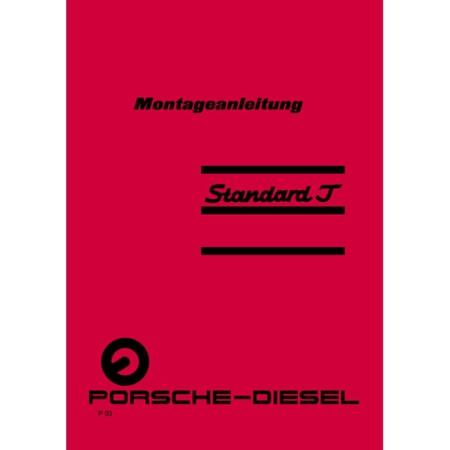 Porsche Diesel Schlepper Standard 217 Montageanleitung
